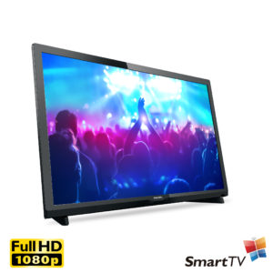 PHILIPS 24″ FHD Smart TV<br><h4>24PFD5022</h4>